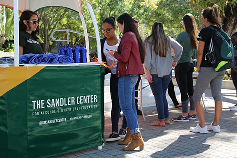 Sandler Center Health Hut