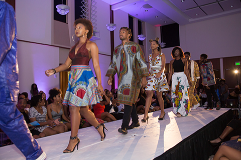 African Students Union fashion show